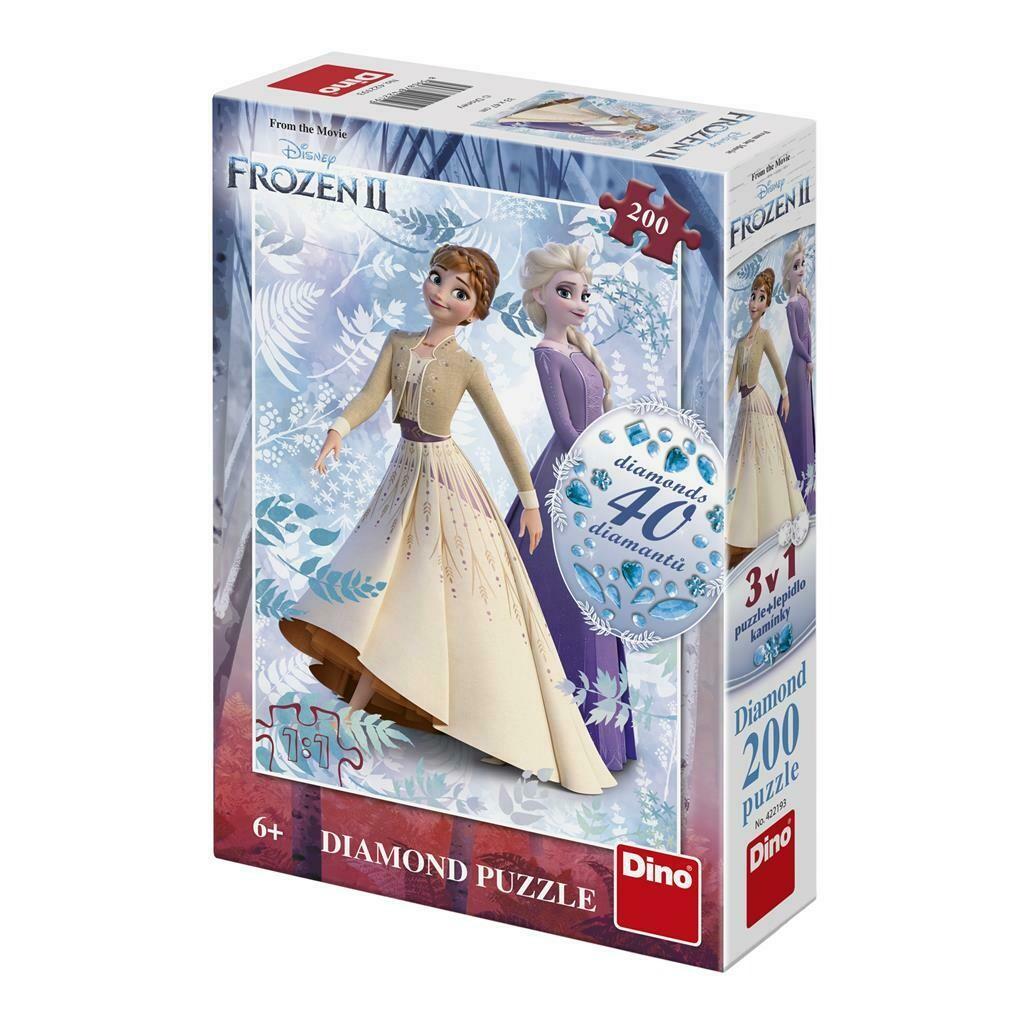 PUZZLE 200 pcs DIAMONDS Frozen 2 - Disney - DINO