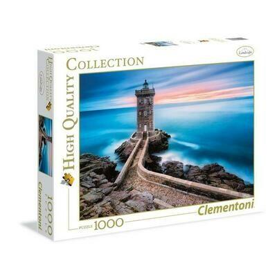 PUZZLE 1000 HQ Lighthouse - CLEMENTONI