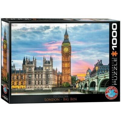 PUZZLE 1000 pcs Big Ben - Londres - Eurographics