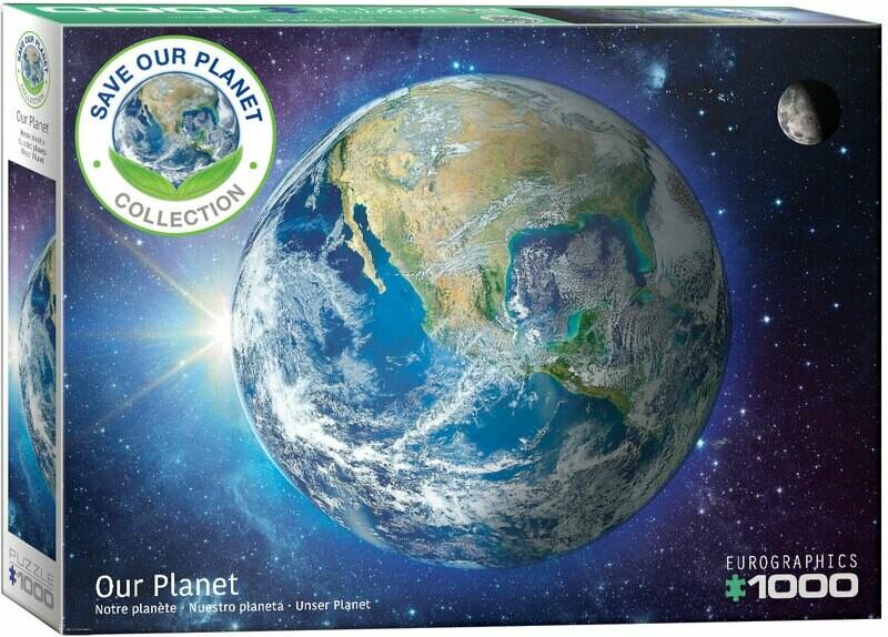 PUZZLE 1000 pcs A Terra - Eurographics