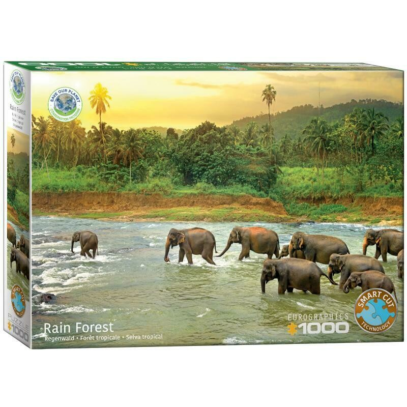 PUZZLE 1000 pcs Reino Animal - Eurographics