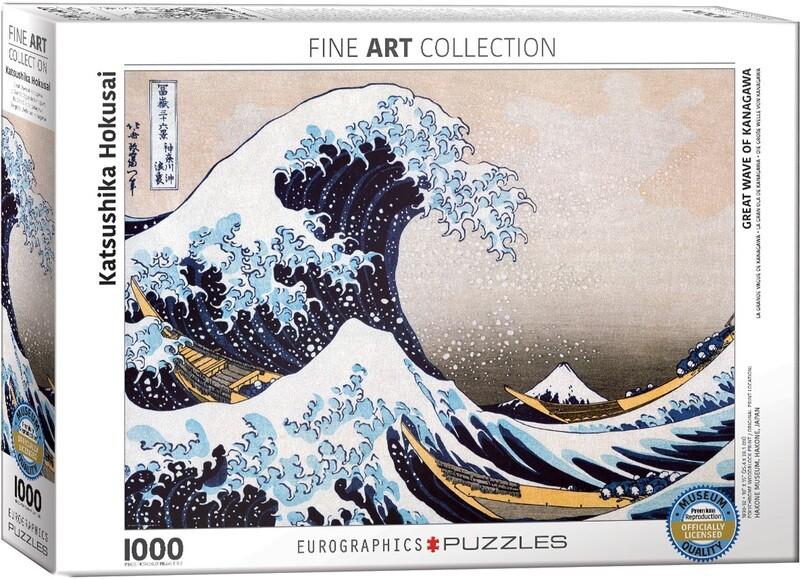 PUZZLE 1000 pcs Great Wave - Eurographics