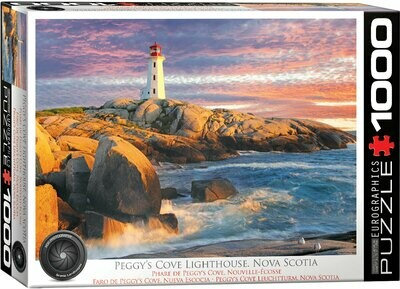 PUZZLE 1000 pcs Peggy Cove Lighthouse Nova Scotia - Eurographics