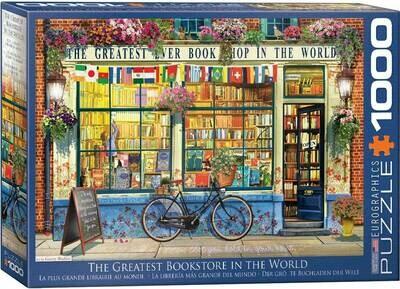 PUZZLE 1000 pcs A Melhor Livraria do Mundo - Eurographics