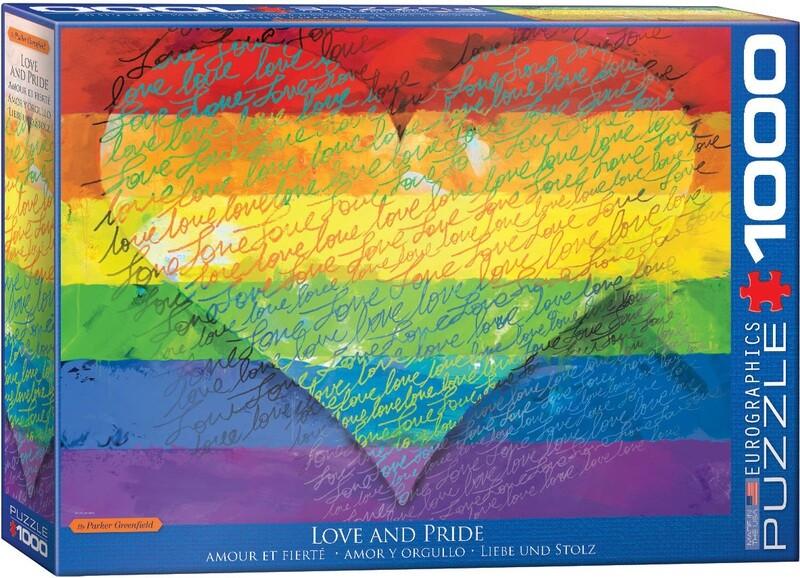 PUZZLE 1000 pcs Love & Pride - Eurographics