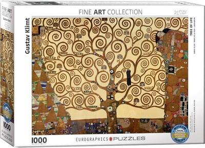 PUZZLE 1000 pcs A Árvore da Vida - Klimt - Eurographics