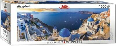 PUZZLE 1000 pcs Panoramic - Santorini - Eurographics