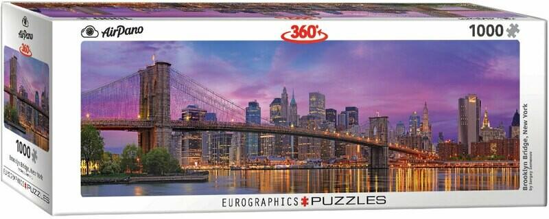 PUZZLE 1000 pcs Panoramic - Brooklyn Bridge - Eurographics