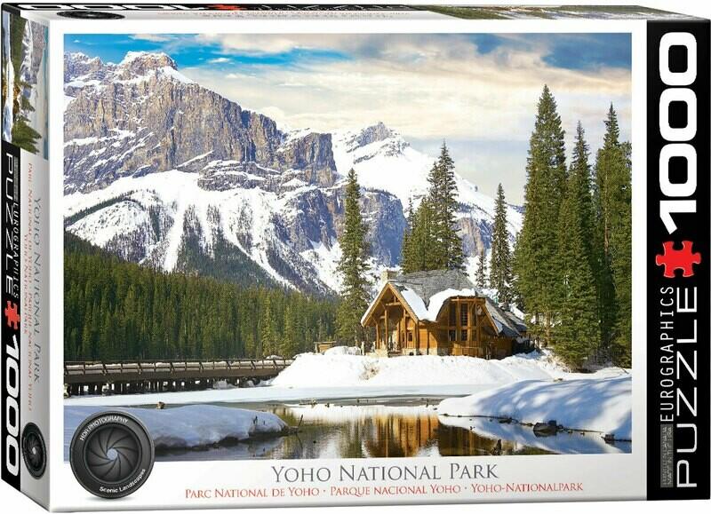 PUZZLE 1000 pcs Parque Nacional Yoho - Eurographics