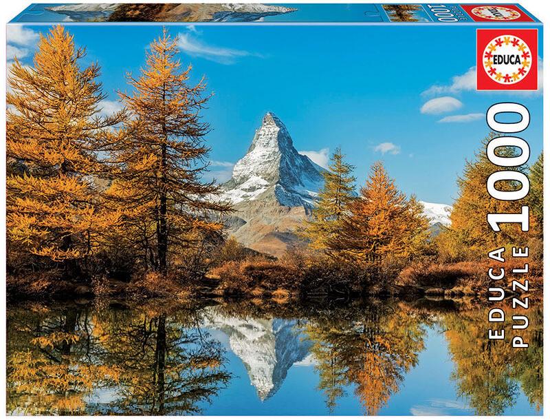 PUZZLE 1000 pcs Matterhorn - EDUCA