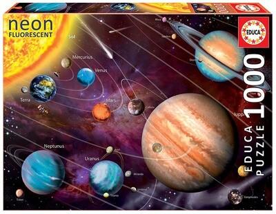 PUZZLE 1000 pcs Sistema Solar