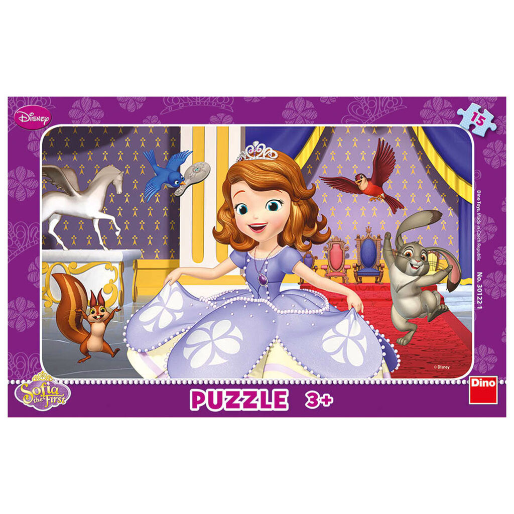 PUZZLE Frame 15 pcs - Princesa Sofia - DINO