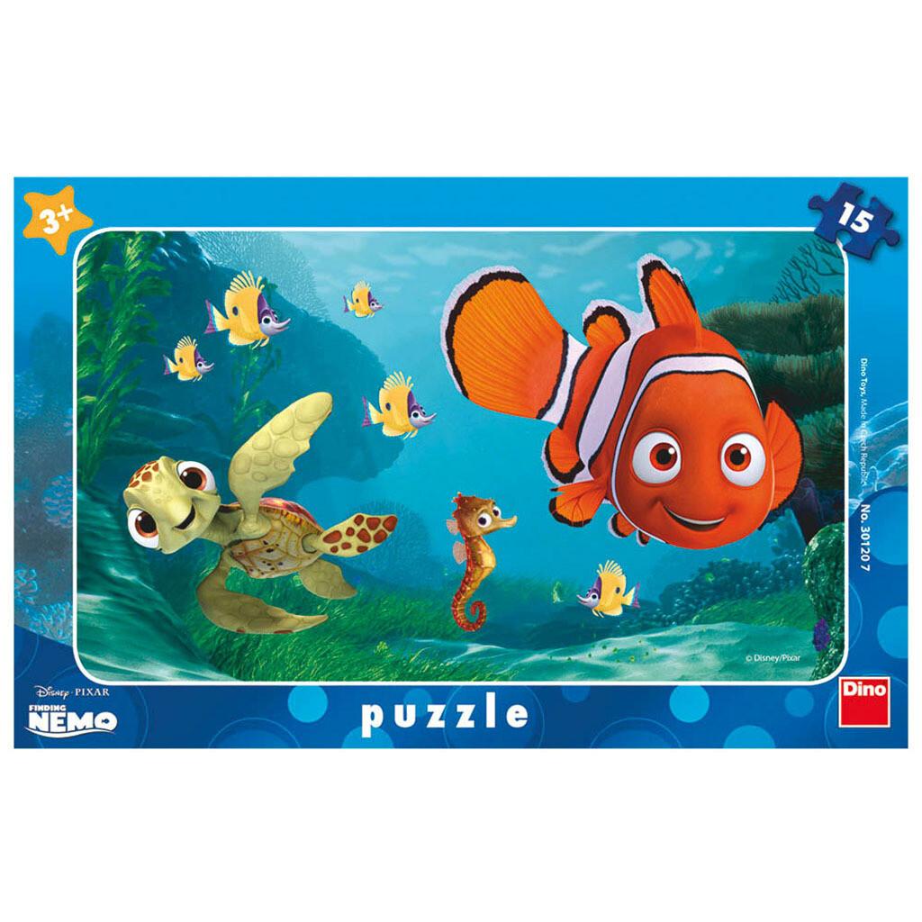 PUZZLE Frame 15 pcs - Nemo - DINO