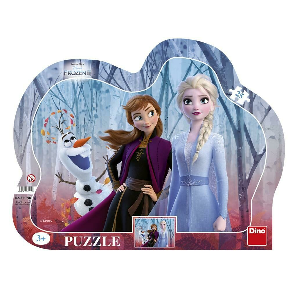 PUZZLE Frame 25 pcs - Frozen II - DINO