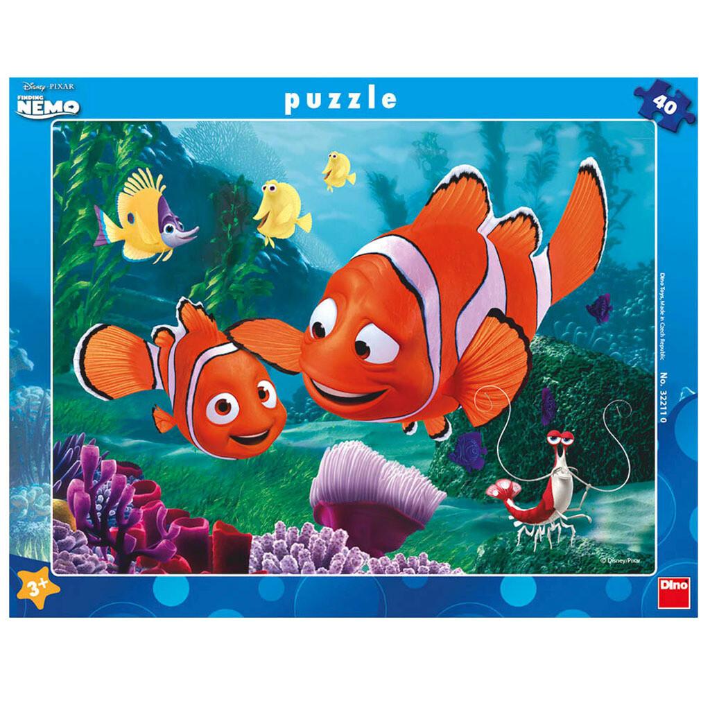 PUZZLE Frame 40 pcs - Nemo - DINO