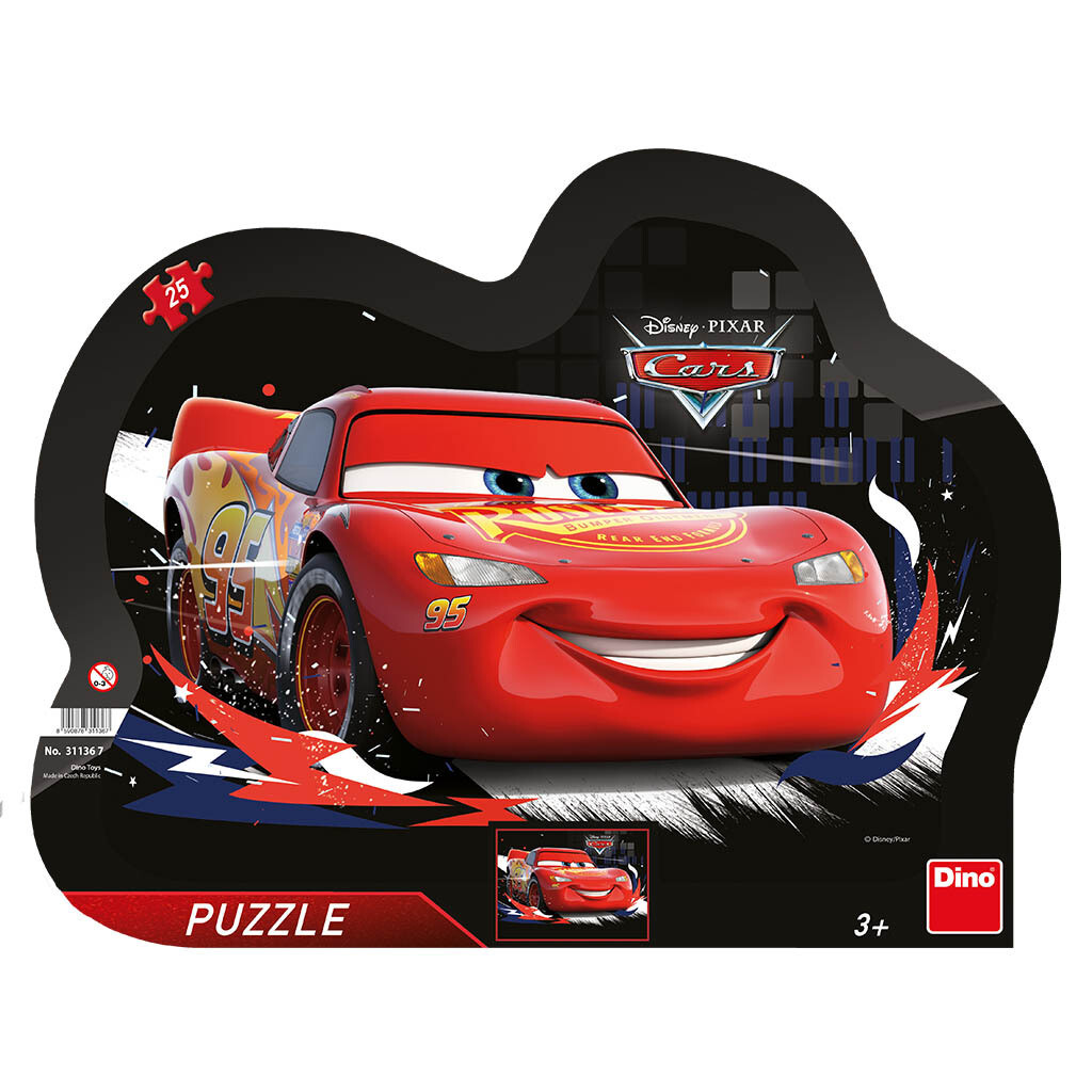 PUZZLE Frame 25 pcs - Cars 3 - DINO