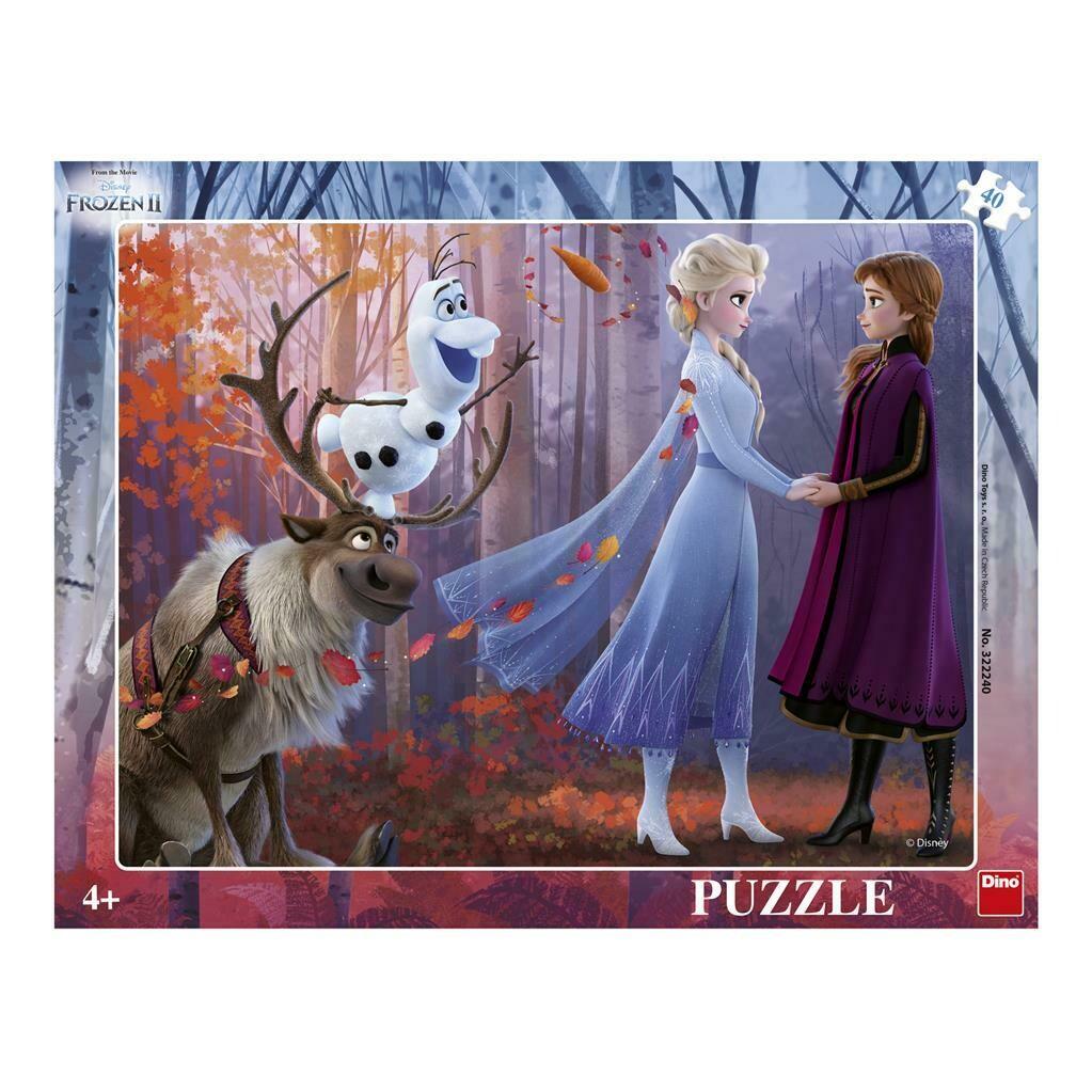PUZZLE Frame 40 pcs - Frozen 2 - Disney - DINO