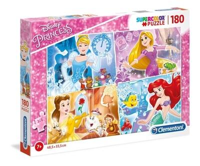 PUZZLE Super 180 pcs Princesas - CLEMENTONI