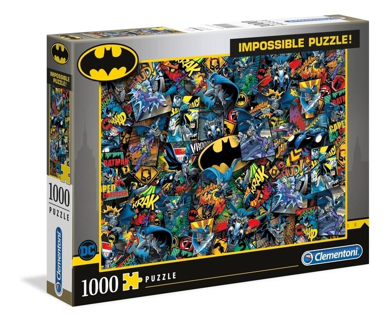 PUZZLE 1000 Batman - Impossible - CLEMENTONI