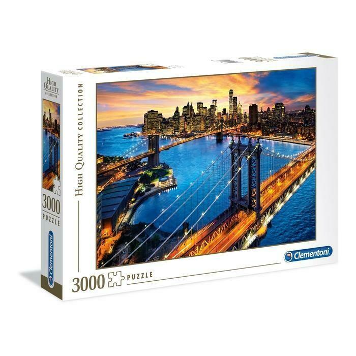 PUZZLE 3000 HQ Nova Iorque - CLEMENTONI