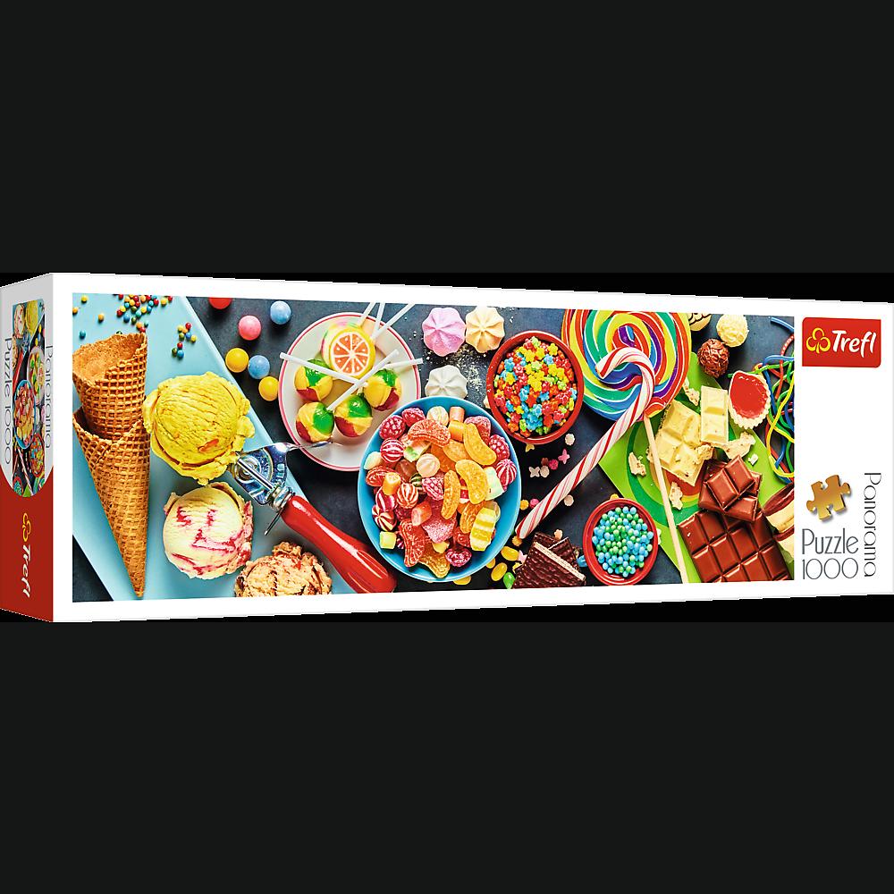 PUZZLE 1000 pcs PANORAMIC - Sweet Delights - TREFL