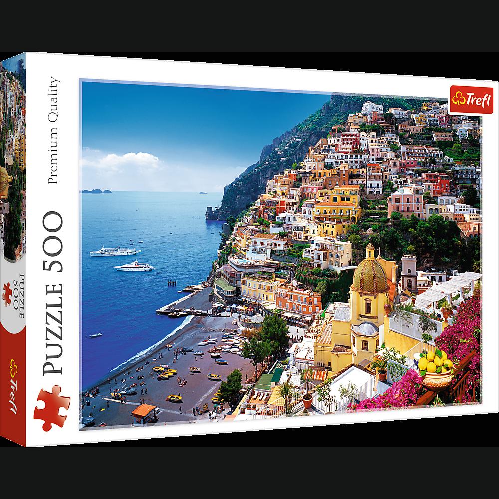 PUZZLE 500 pcs - Positano, Italia - TREFL
