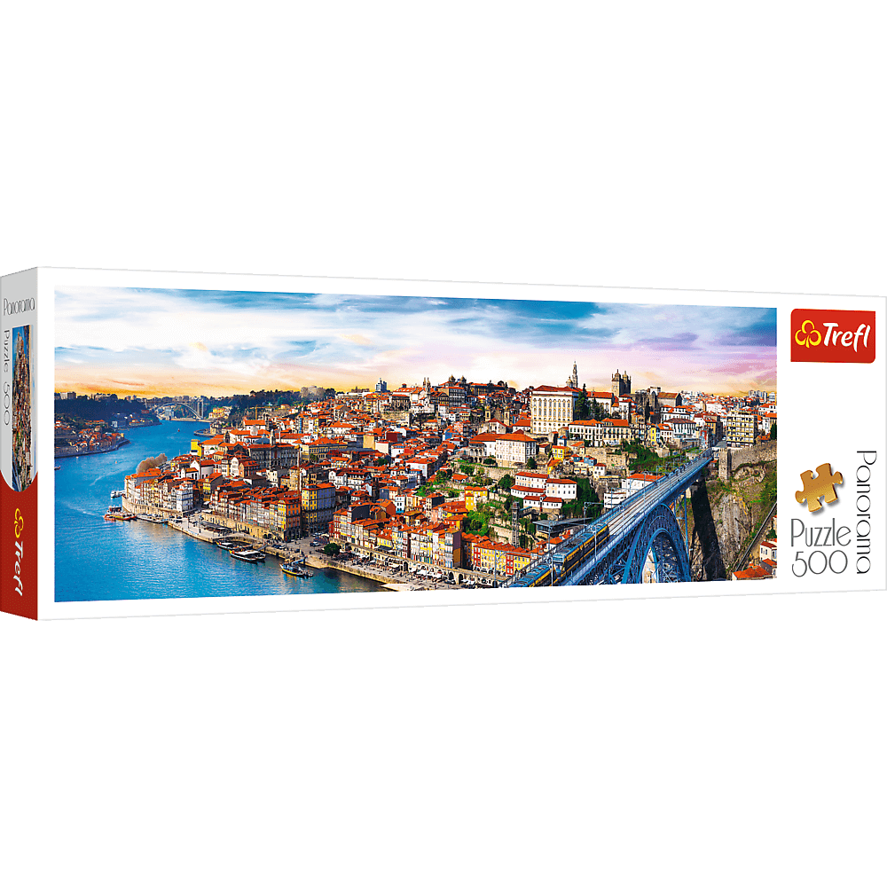 PUZZLE 500 pcs PANORAMIC - Porto - TREFL