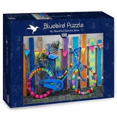 PUZZLE 1000 pcs - My Beautiful Colorful Bike - BLUEBIRD