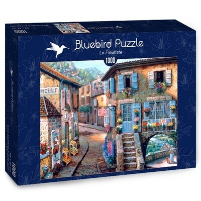 PUZZLE 1000 pcs - A Florista - BLUEBIRD