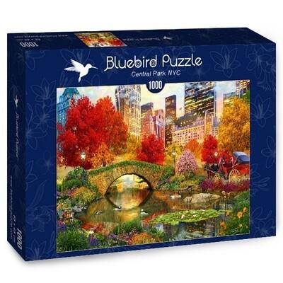 PUZZLE 1000 pcs - Central Park NYC - BLUEBIRD