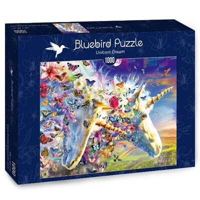 PUZZLE 1000 pcs - Unicorn Dream - BLUEBIRD