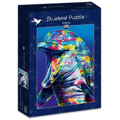 PUZZLE 1000 pcs - Golfinho - BLUEBIRD