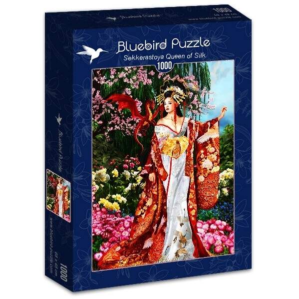 PUZZLE 1000 pcs - Rainha de Seda - BLUEBIRD