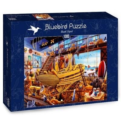 PUZZLE 1000 pcs - Estaleiro Naval - BLUEBIRD
