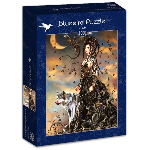 PUZZLE 1000 pcs - Bella - BLUEBIRD