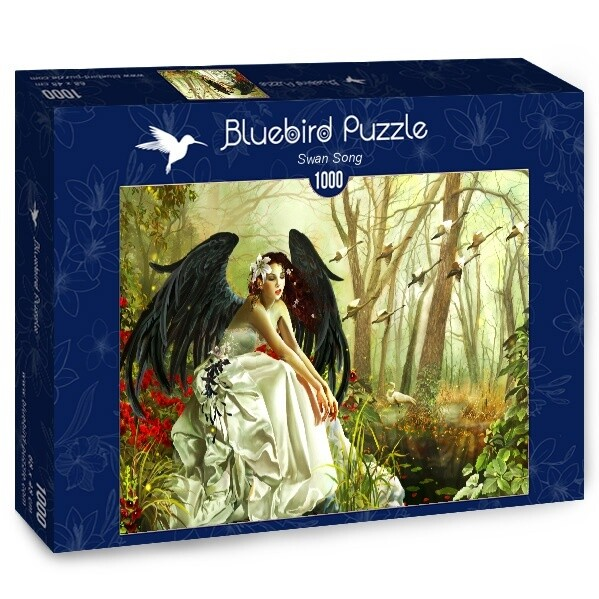 PUZZLE 1000 pcs - Swan Song - BLUEBIRD