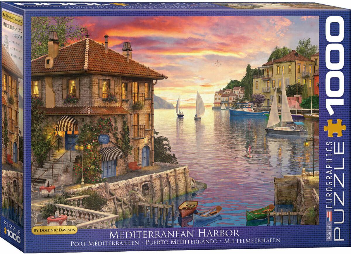 PUZZLE 1000 pcs  - Porto Mediterrânico - Eurographics