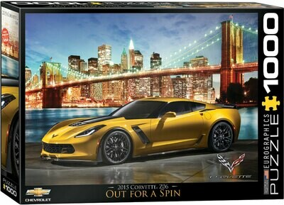 PUZZLE 1000 pcs Corvette Z06 Out for a Spin - Eurographics