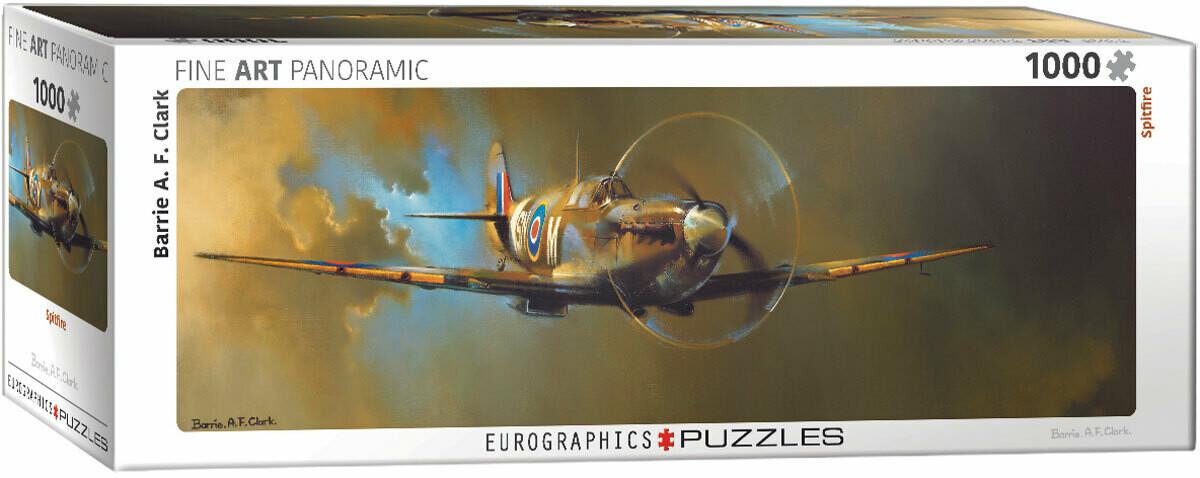 PUZZLE 1000 pcs Panoramic- Spitfire - Eurographics