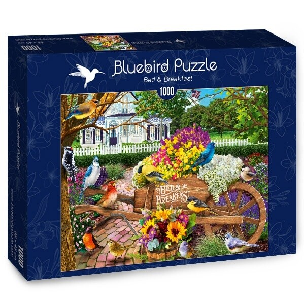 PUZZLE 1000 pcs - Bed & Breakfast - BLUEBIRD