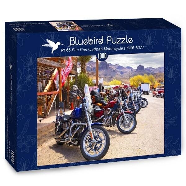 PUZZLE 1000 pcs - Route 66 - BLUEBIRD