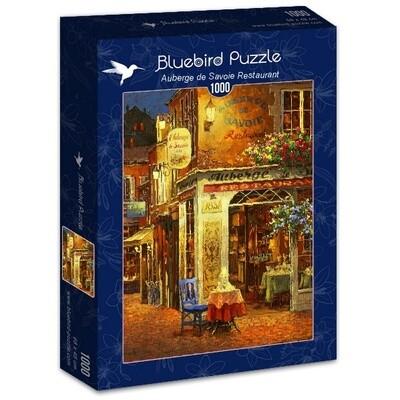 PUZZLE 1000 pcs - Restaurante Auberge de Savoie - BLUEBIRD