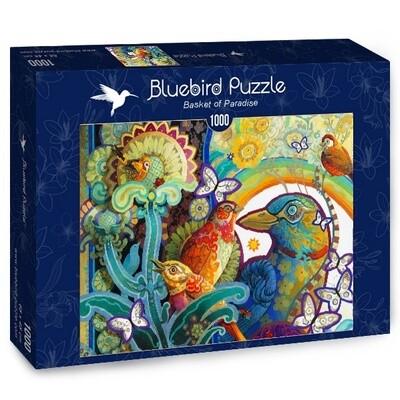 PUZZLE 1000 pcs - Basket of Paradise - BLUEBIRD