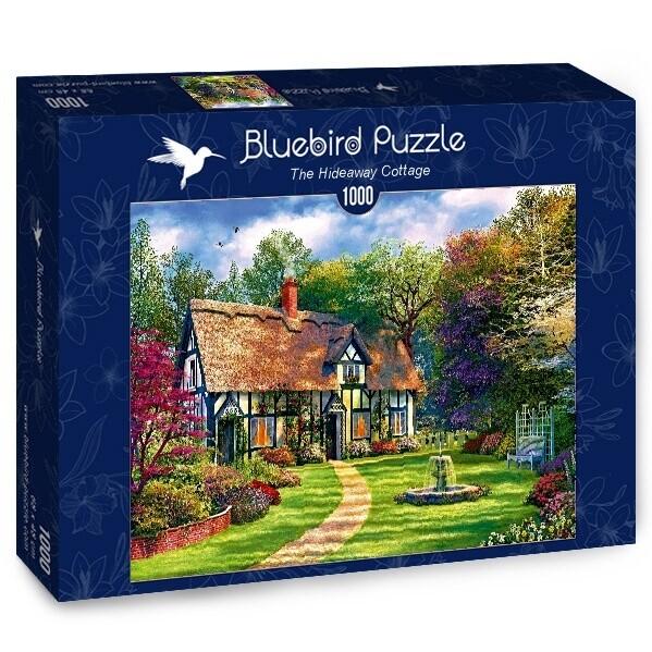 PUZZLE 1000 pcs - The Hideway Cottage - BLUEBIRD