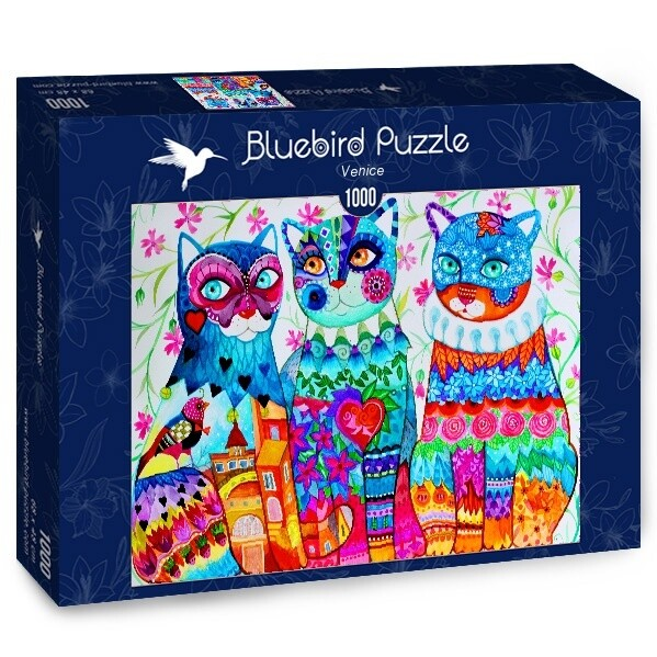 PUZZLE 1000 pcs - Venice - BLUEBIRD