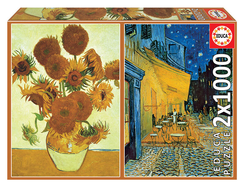 PUZZLE 2x1000 pcs Vincent Can Gogh - EDUCA