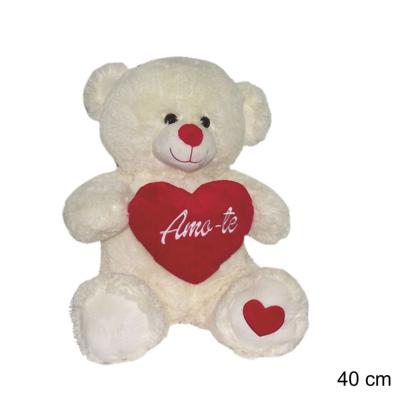 Peluche urso namorados 40cm