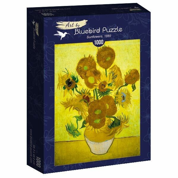 PUZZLE 1000 pcs - Sunflowers, 1889 - BLUEBIRD