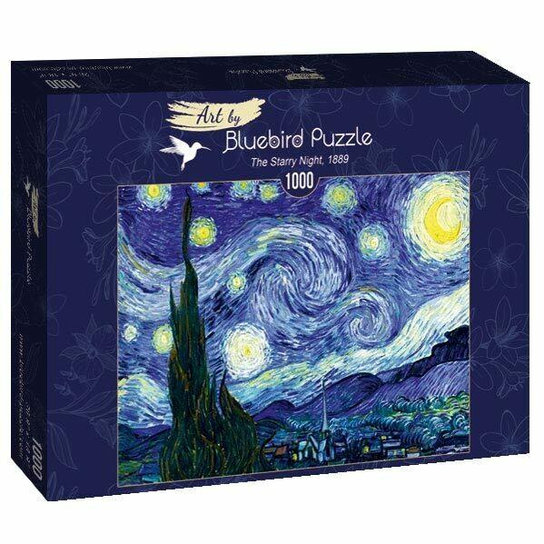 PUZZLE 1000 pcs - The Starry Night 1889 - BLUEBIRD