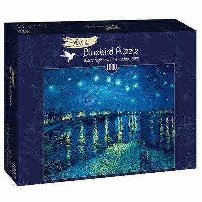 PUZZLE 1000 pcs - Starry Night over the Rhône, 1888 - BLUEBIRD